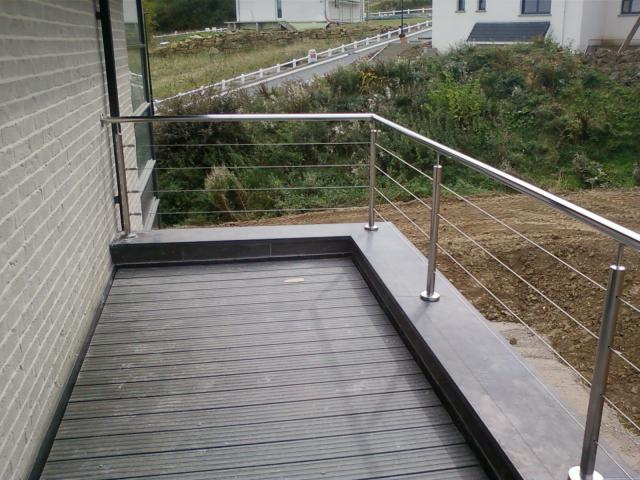 Balcon métallique sur mesure Dunkerque (59)