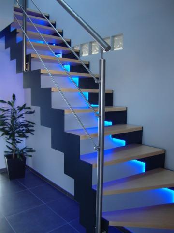 Fabricant escalier double limon acier inox Dunkerque (59)