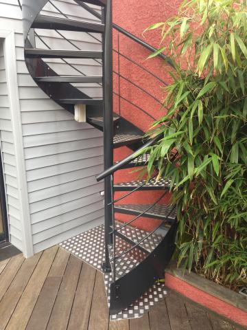 Fabricant d'escalier hélicoïdal inox acier Dunkerque