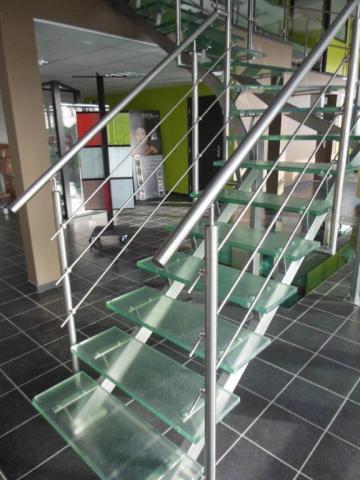 Escalier inox Armentières