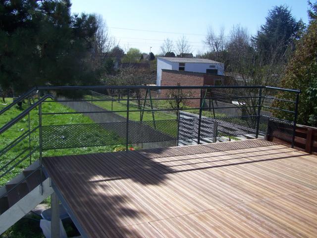 Terrasse suspendue sur mesure Dunkerque (59)